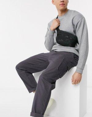 Монохромная сумка-кошелек на пояс -Черный ellesse