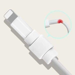 Протектор кабеля для передачи данных 1шт SHEIN. Цвет: многоцветный
