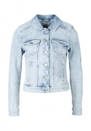 Куртка джинсовая Q/S designed by. Цвет: голубой