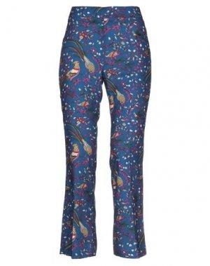 Повседневные брюки COMPAGNIA ITALIANA. Цвет: синий