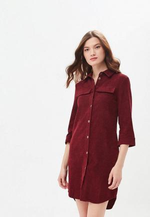 Платье Xarizmas. Цвет: бордовый