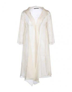Легкое пальто BOTONDI MILANO. Цвет: бежевый