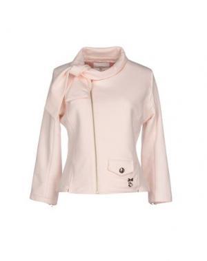 Куртка MAISON ESPIN. Цвет: светло-розовый