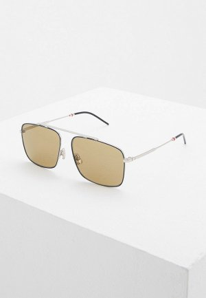 Очки солнцезащитные Christian Dior Homme DIOR0220S ECJ. Цвет: серебряный