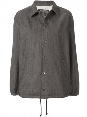 Джинсовая куртка оверсайз из коллаборации с Cindy Sherman Undercover. Цвет: черный