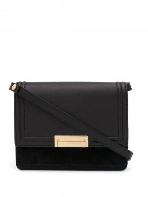 Bi-fold shoulder bag By Malene Birger. Цвет: черный