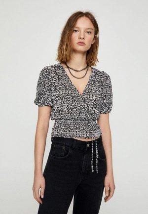 Блуза Pull&Bear. Цвет: разноцветный