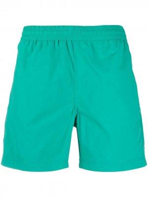 Плавки-шорты с эластичным поясом Carhartt WIP. Цвет: зеленый
