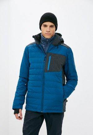 Куртка горнолыжная Brunotti Sam. Цвет: синий