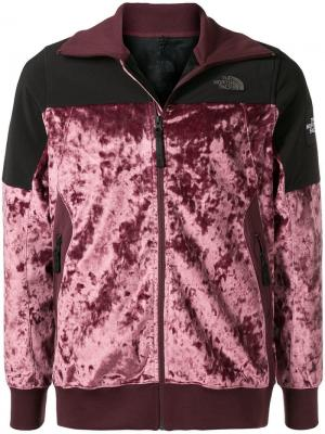Куртка-бомбер контрастного дизайна The North Face