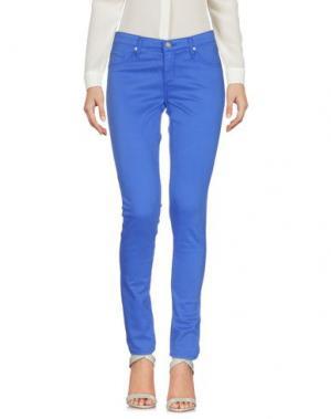 Повседневные брюки AG JEANS. Цвет: ярко-синий