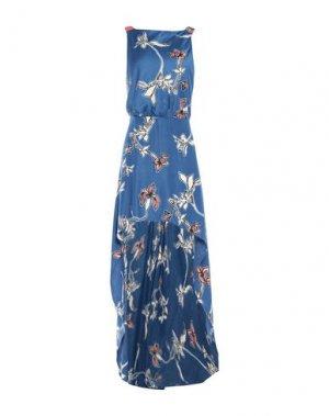 Короткое платье ALEXIS. Цвет: синий
