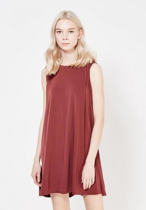 Платье BCBGeneration BC528EWUQF01. Цвет: бордовый