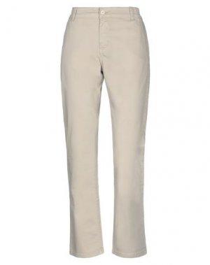 Повседневные брюки AND. Цвет: бежевый