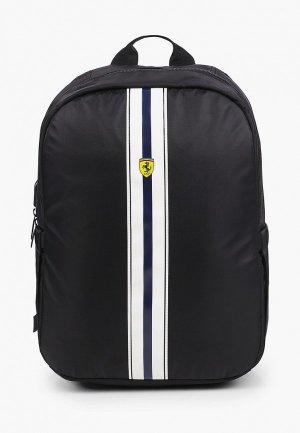 Рюкзак Ferrari для ноутбуков 15, On-track PISTA Backpack with USB-connector Black. Цвет: черный
