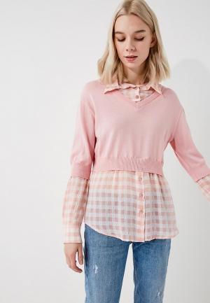 Пуловер Boutique Moschino. Цвет: розовый