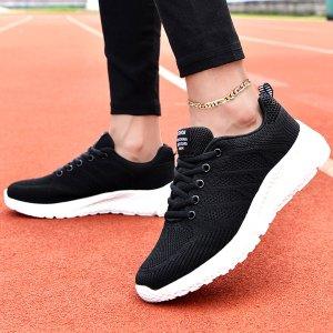 Спортивные сандалии на шнурках SHEIN. Цвет: черный и белый