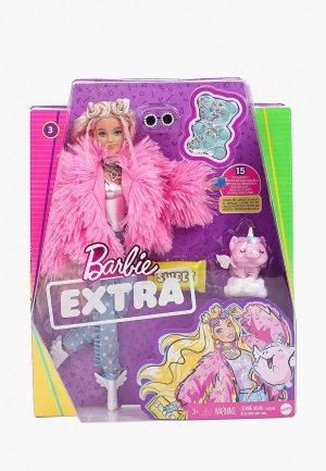 Кукла Barbie Barbie®  Экстра - в розовой куртке. Цвет: разноцветный