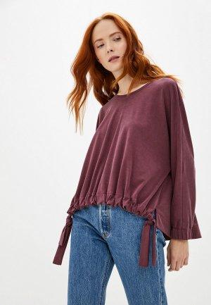 Блуза Adzhedo. Цвет: бордовый