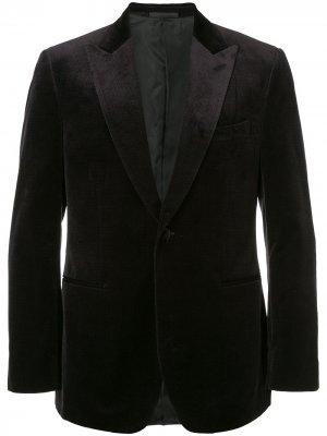 Классический пиджак Gieves & Hawkes. Цвет: синий