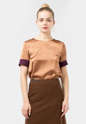 3213f40cb69f Коричневые женские блузки купить в интернет-магазине LikeWear.ru