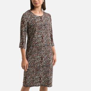 Платье-миди LaRedoute. Цвет: черный