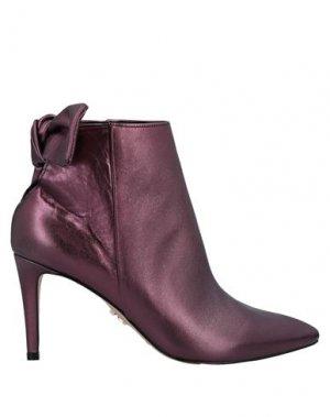 Полусапоги и высокие ботинки CARRANO. Цвет: пурпурный