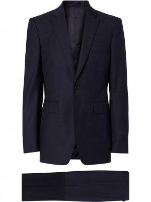 Классический костюм Burberry. Цвет: синий