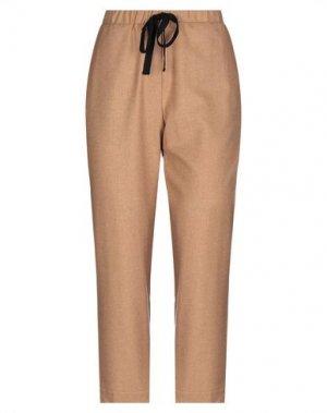 Повседневные брюки LA FABRIQUE. Цвет: верблюжий