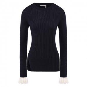 Пуловер Chloé. Цвет: синий