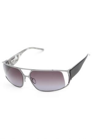 Очки солнцезащитные Christian Roth. Цвет: серый