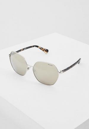 Очки солнцезащитные Ralph Lauren RA4124 90015A. Цвет: серебряный