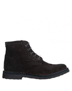 Полусапоги и высокие ботинки ARMATA DI MARE. Цвет: темно-коричневый