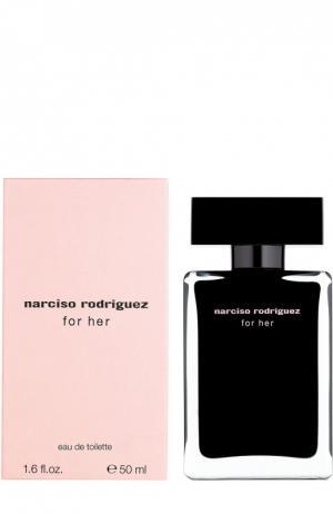 Туалетная вода For Her Narciso Rodriguez. Цвет: бесцветный