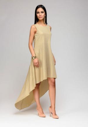 Платье D&M by 1001 dress. Цвет: золотой