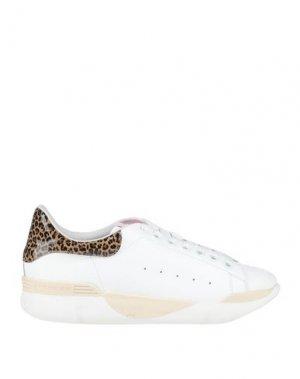 Низкие кеды и кроссовки ANIYE BY. Цвет: белый