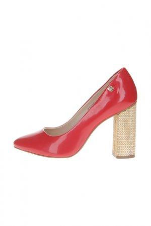 Туфли лодочки Loucos & Santos. Цвет: красный