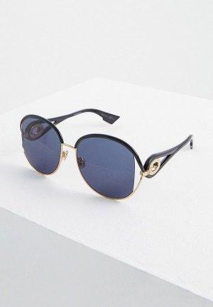 Очки солнцезащитные Christian Dior DIORNEWVOLUTE RHL. Цвет: зеленый