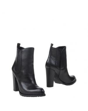 Полусапоги и высокие ботинки BCBGENERATION. Цвет: черный