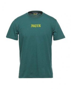 Футболка IUTER. Цвет: зеленый