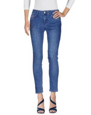 Джинсовые брюки REBEL QUEEN by LIU •JO. Цвет: синий