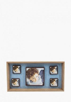 Фоторамка Русские подарки. Цвет: голубой