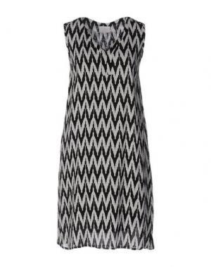 Короткое платье KAFFE. Цвет: черный
