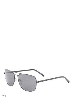 Солнцезащитные очки TO 0066 02A Tod's. Цвет: черный