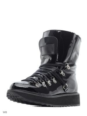 Ботинки Alba. Цвет: черный