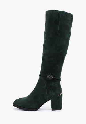 Сапоги Evita. Цвет: зеленый