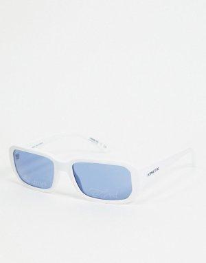 Квадратные солнцезащитные очки в белой оправе x Post Malone-Белый Arnette