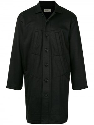 Жакет с прорезными карманами Yohji Yamamoto. Цвет: черный