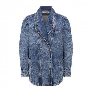 Джинсовая куртка Isabel Marant Etoile. Цвет: синий
