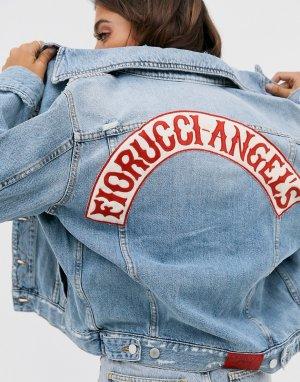 Свободная джинсовая куртка Nico-Синий Fiorucci